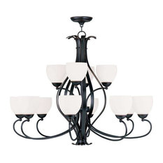 Brookside Chandelier, Olde Bronze