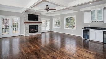 Contemporary Custom Home, Family Room