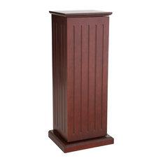 Kelsie Media Storage Pedestal, Cherry