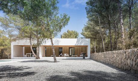 Integrada y discreta: La casa de campo perfecta está en Ibiza