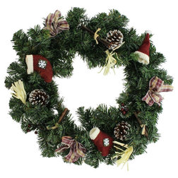 Traditional Wreaths And Garlands by Home Garden Collections