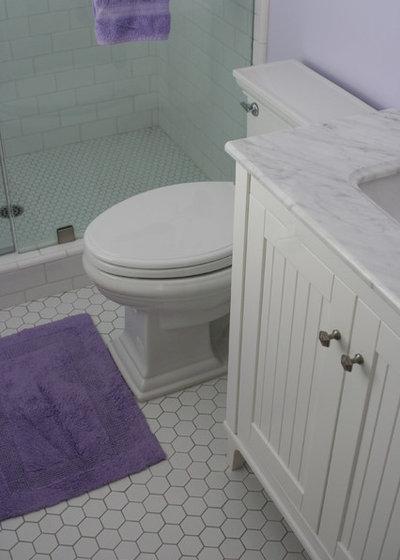 Traditional Bathroom little girls bathroom by Valerie Pedersen Interior Design
