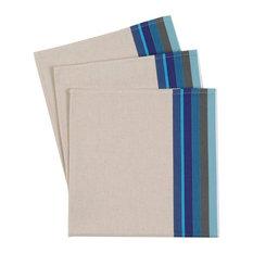 Mauléon Havane Napkins, Blue, Set of 3