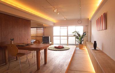 今週の部屋:ゲストも気楽に過ごせる、13.2mの「土間」がつなぐリビング空間