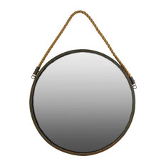 Urban Trends Metal Mirror, Brown