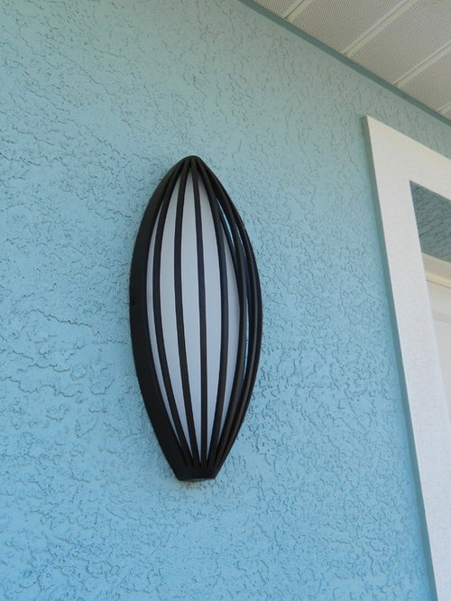 Private Residence Englewood FL - Outdoor Wall Lights And Sconces