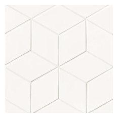 Ferrari Rhombus Ceramic White Sand Costa Allegra Tile