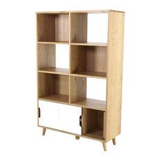 Elfy Scandinavian Bookcase