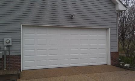 16x7 Insulated garage door