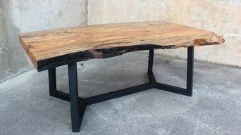 Pecan Slab Coffee Table
