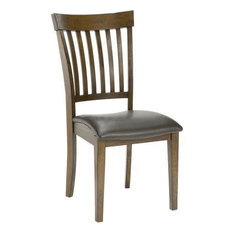 Hillsdale Arbor Hill Side Chair in Leather (Set of 2)