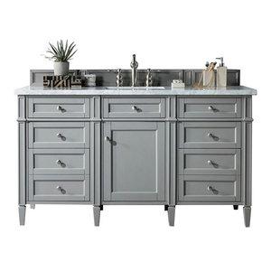 """60"""" Single Sink Vanity, Urban Gray"""