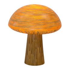 ixapa ixapa mushroom lamp with pitrit decoration large outdoor table lamps