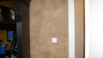 *05/2013* Kitchen Walls/Living Room Walls&Niches