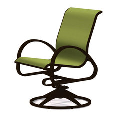 Aruba II Sling Swivel Rocker, Textured Kona, Lime