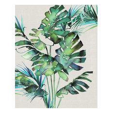 """Monstera Leaves"" Canvas Print by Summer Thornton, 40x50 cm"