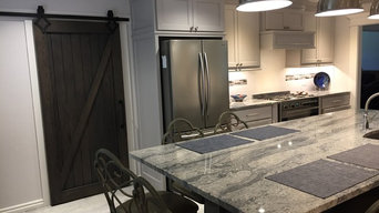 Transitional-Kitchen and Guest Bath