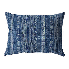 INDIGO LANDSCAPE Indoor|Outdoor Lumbar Pillow By Becky Bailey