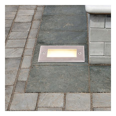 """5.5"""" Modern Low-Voltage 2-Watt Integrated LED Outdoor In-Ground Light"""