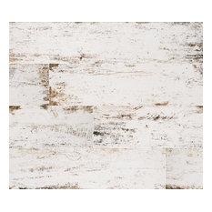 Wallandtile - Vintage White Matte Porcelain Tile, Large, Sample - Wall and Floor Tile