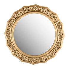 Safavieh Gossamer Lace Mirror, Gold
