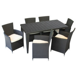 Tropical Outdoor Dining Sets by M&E Sales