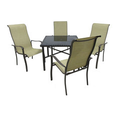 Outdoor Innovations 153 99 147 Pacifica 5 Piece Dining Collection