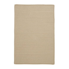 Colonial Mills, Inc - Colonial Mills Simply Home Solid H182 Linen Rug, 10x10 - Outdoor Rugs