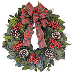 Traditional Wreaths And Garlands by Botanical Splash