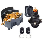 Kohler - Kohler P8304-PS-NA Rite-Temp Valve Body And Cartridge Kit - The new KOHLER Rite-Temp valve system sets new standards for ease of installation, application versatility, and long-term reliability, simplifying your plumbing project and providing maximum flexibility for future changes or upgrades. The Rite-Temp valve platform uses the latest pressure-balancing technology to provide anti-scald protection and temperature control for enhanced showering comfort. Once the valve is installed, select your finished trim and finish from KOHLER's comprehensive design portfolio. Should you decide to remodel in the future, simply change out your trim for the latest design without the need to change the valve installation.