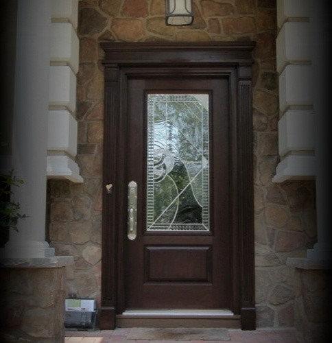 Single Fiberglass Entry Doors By Royal Windows And Doors   Front Doors