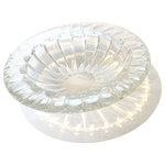 """Vintage - Vintage Crystal Serving Bowl - Vintage European crystal serving bowl. 12"""" across. Great for any dinner party or center dining table piece."""