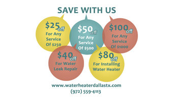 Water Heater Dallas TX