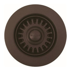 "Blanco 441091 3-1/2"" Basket Strainer and Sink Flange - Brown"