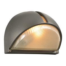 Claret 1-Light Outdoor Fixture, Bronze, A19 Bulb