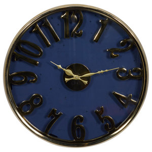 Large Gears Of Time Clock Industrial Wall Clocks By Xoticbrands Home Decor Houzz
