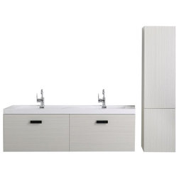 Contemporary Bathroom Vanities And Sink Consoles by Burroughs Hardwoods Inc.