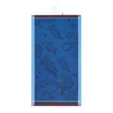 Oceanique Beach Towel, Abyss Blue