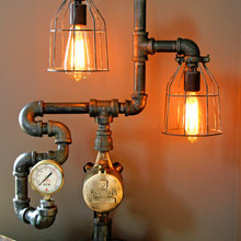 Let there be Light:  Lamps and other Light fixtures worth noting.