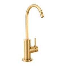 Moen Sip Modern Brushed Gold One-Handle Beverage Faucet