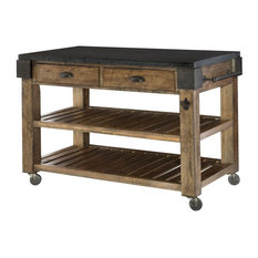 industrial kitchen islands and carts | houzz