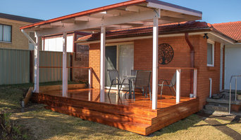 Dapto deck and pergola