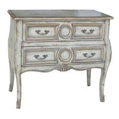 crestview collection victoria 2drawer bombe chest accent chests and cabinets