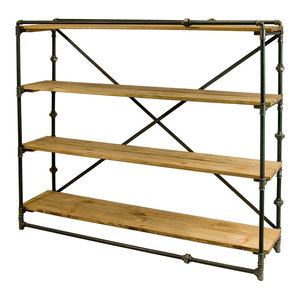 Large Steel Pipe Shelving Unit