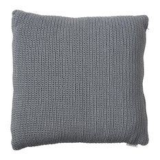 "Scatter Large Cushion"" PP Crochet, Gray"