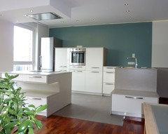 In Einem Kleineren Raum Würde Ich Zurückhaltende Farben Wie Ein Schönes  Blau Grün, Lavendel Oder Taupe ähnlich Zum Grau Kombinieren.