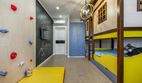 Проект недели: Детская со скалодромом и штабом