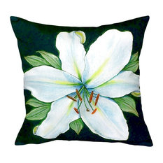"Casablanca Lily No Cord Pillow, 18""x18"""