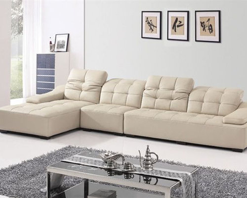 Corner Sectional Sofas Genuine Italian Quality Leather L