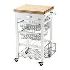 Gastone Kitchen Trolley, White